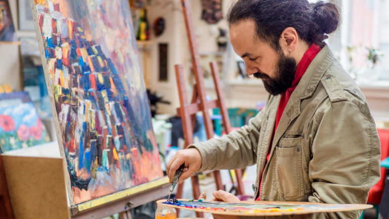 6 Ways To Be A More Productive Artist