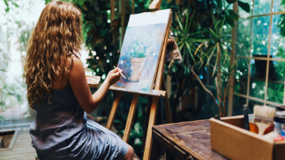 Benefits of painting and its impact on mental health